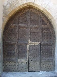 Château de Curis-au-Mont-d'Or, porte classée