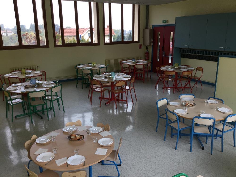 Restaurant scolaire, Curis-au-Mont-d'Or