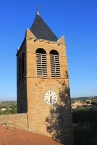 Eglise, le clocher