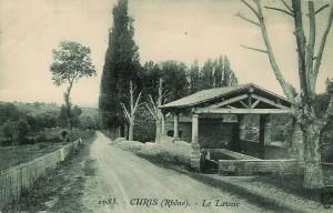 Le lavoir, Curis-au-Mont-d'Or