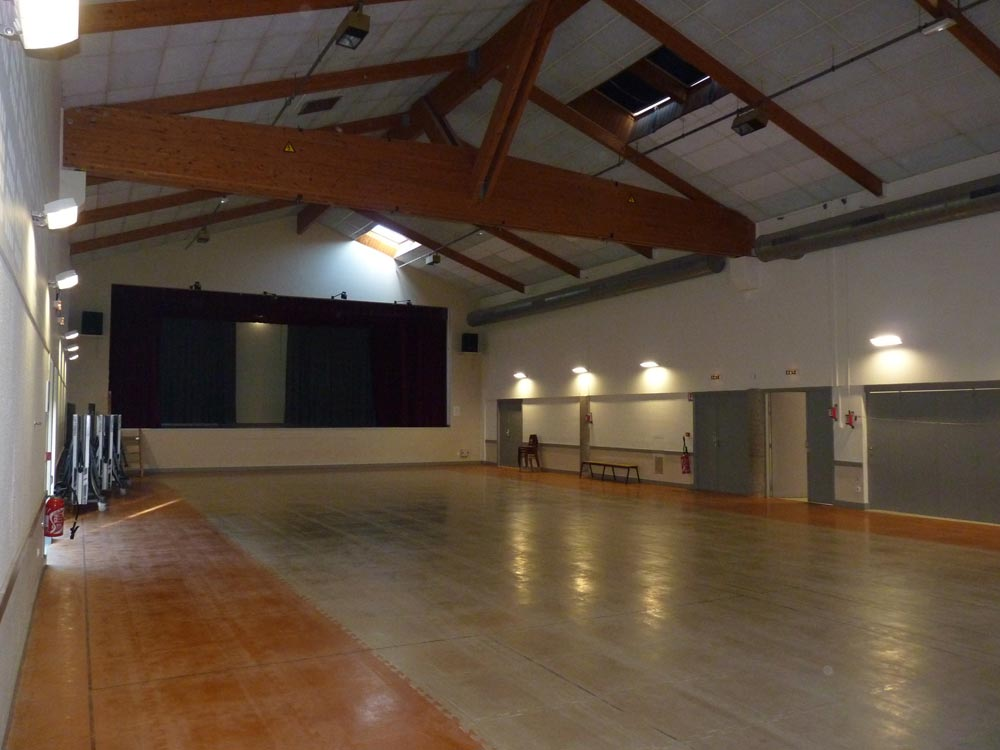 Salle du Vallon, grande salle