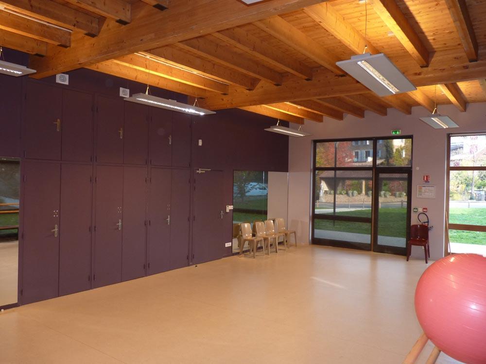 Salle du Vallon, salle de gymnastique